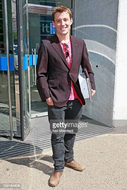 Ben Shephard Sighted outside the ITV Studios on his last day of GMTV on July 30 2010 in London England