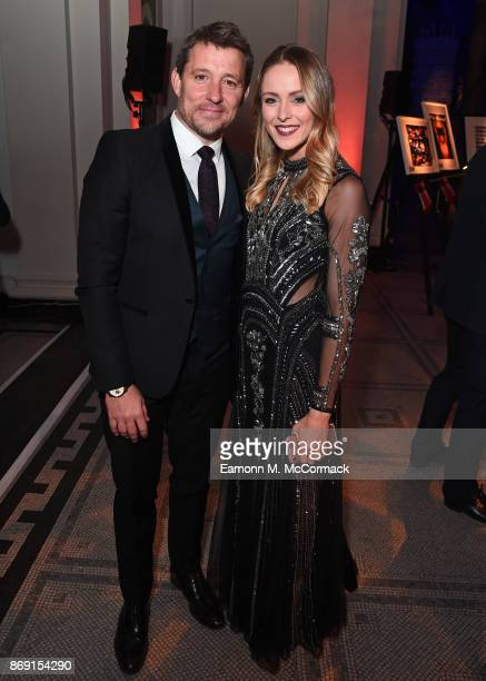 Ben Shepherd and Katie McDonnell attend the Team GB Ball at Victoria and Albert Museum on November 1 2017 in London England