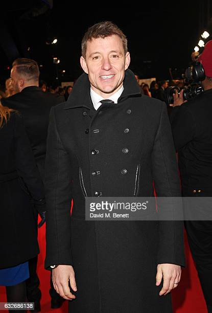 Ben Shepherd attends the National Television Awards on January 25 2017 in London United Kingdom