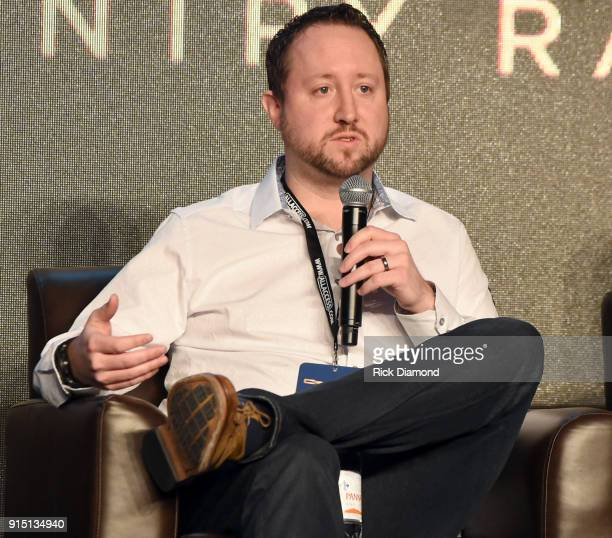 Ben Shepherd of Amazon Global Head of Alexa Music speaks onstage during day 2 of CRS 2018 on February 6 2018 in Nashville Tennessee