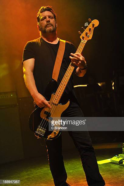 Ben Shepherd of Soundgarden performs on stage at Shepherds Bush Empire on November 9 2012 in London United Kingdom