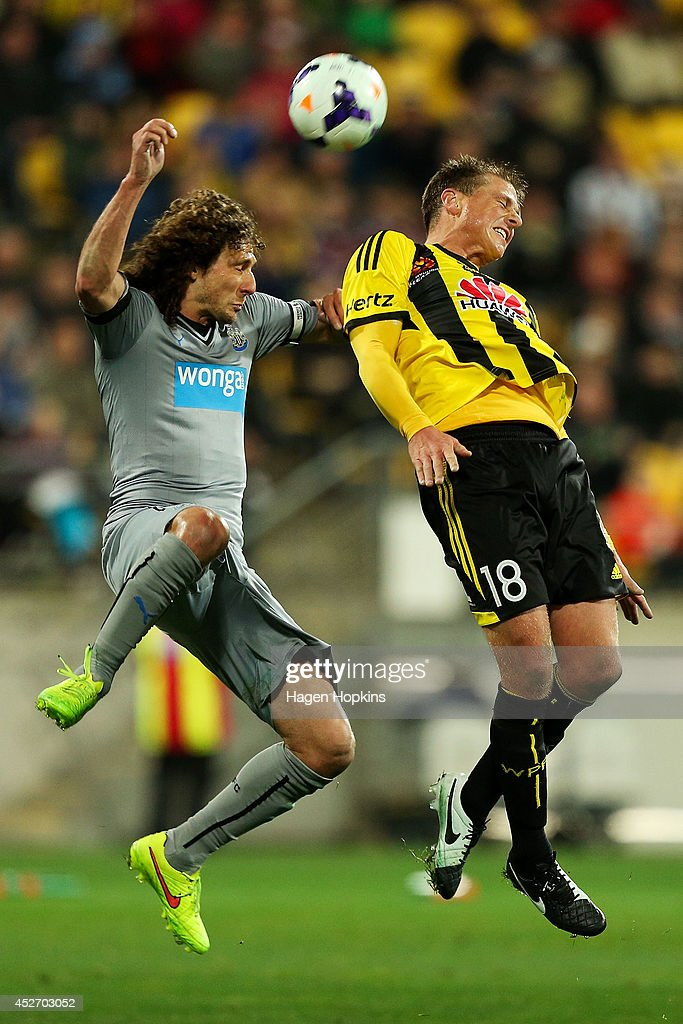 Wellington Phoenix v Newcastle United - Football United New Zealand Tour 2014