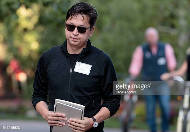 Ben Silbermann chief executive officer of Pinterest attends the annual Allen Company Sun Valley Conference July 6 2016 in Sun Valley Idaho Every July...