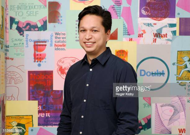 Ben Silbermann Cofounder and CEO at Pinterest Headquarters in San Francisco California