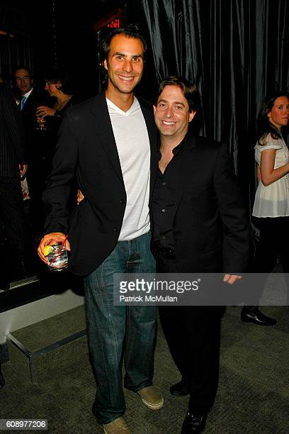 Ben Silverman and Charlie Walk attend BEN SILVERMAN ERIC HADLEY and CHARLIE WALK host THE NETWORK UPFRONTS dinner at Spotlight Live on May 17 2007