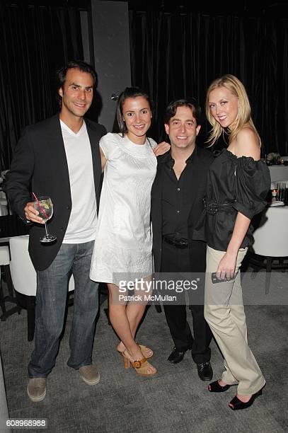 Ben Silverman Celina Belizan Charlie Walk and Jennifer Worthington attend BEN SILVERMAN ERIC HADLEY and CHARLIE WALK host THE NETWORK UPFRONTS dinner...