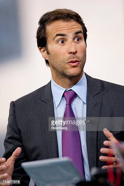 Ben Silverman chairman and founder of Electus speaks during an interview in New York US on Thursday May 17 2012 First as an agent at William Morris...