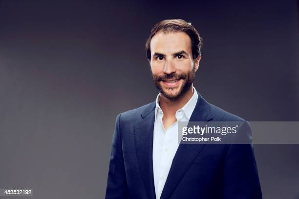 Ben Silverman poses for a portrait at the CW network panel at the Summer 2014 TCAs on July 18 2014 in Beverly Hills California