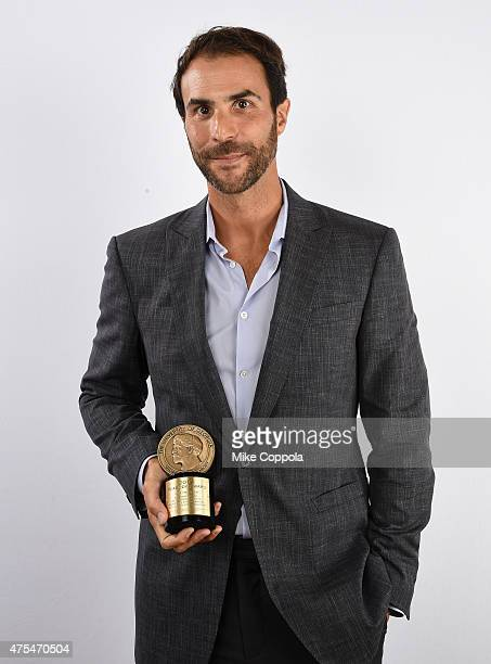 Ben Silverman poses with award during The 74th Annual Peabody Awards Ceremony at Cipriani Wall Street on May 31 2015 in New York City