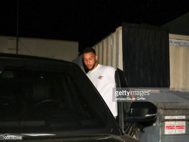 Ben Simmons is seen on July 24 2018 in Los Angeles California