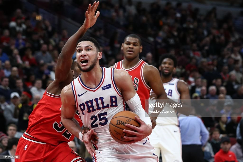Chicago Bulls vs Philadelphia 76ers: NBA : News Photo