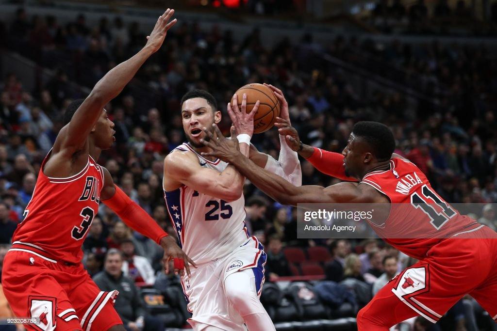 Chicago Bulls vs Philadelphia 76ers: NBA : News Photo