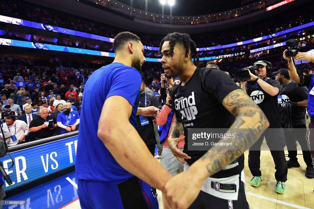 Brooklyn Nets v Philadelphia 76ers - Game Five : News Photo