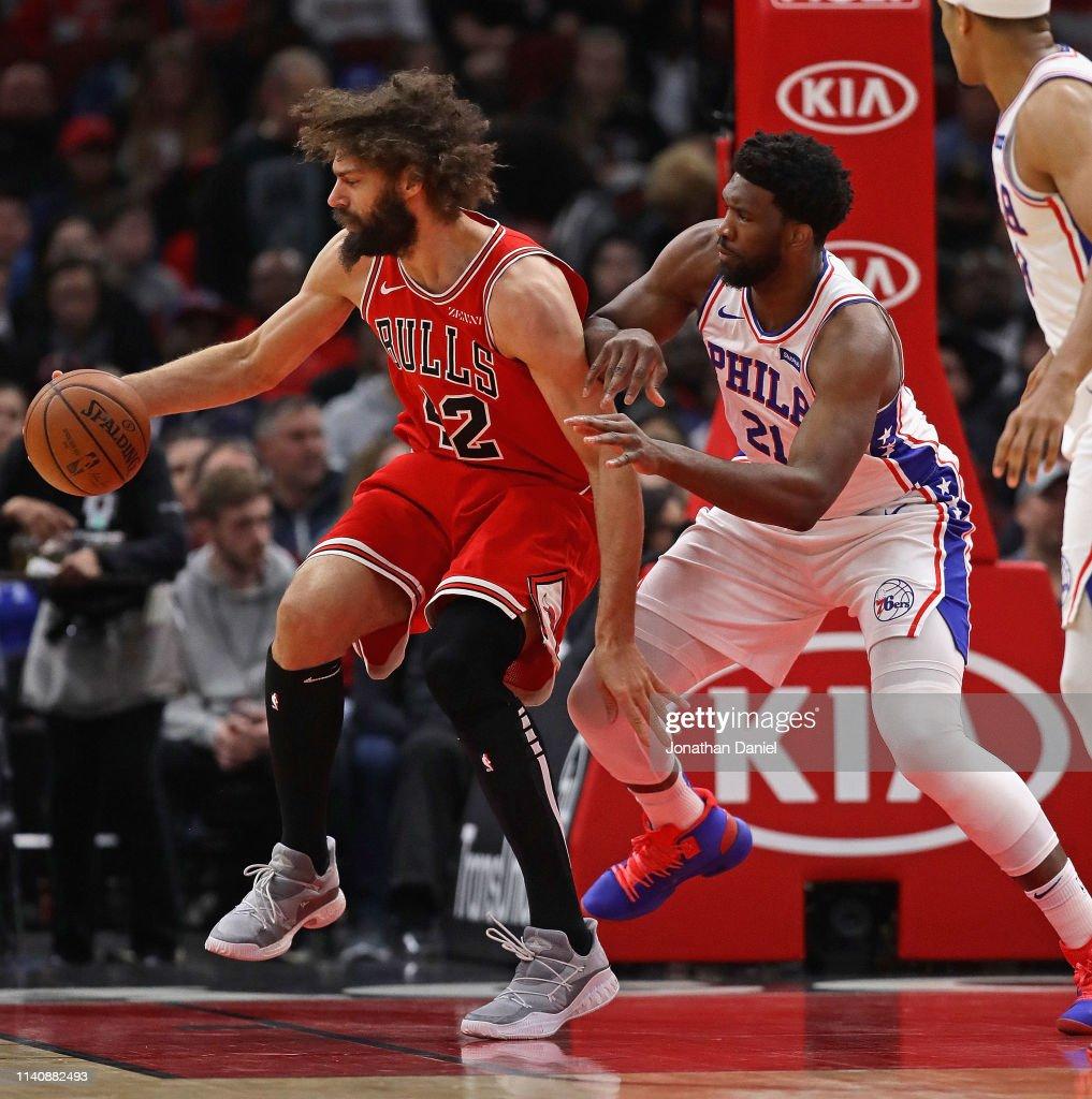 Ben Simmons of the Philadelphia 76ers dunks against the