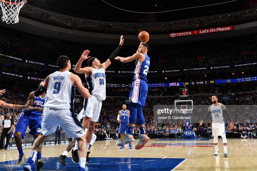Orlando Magic v Philadelphia 76ers : News Photo