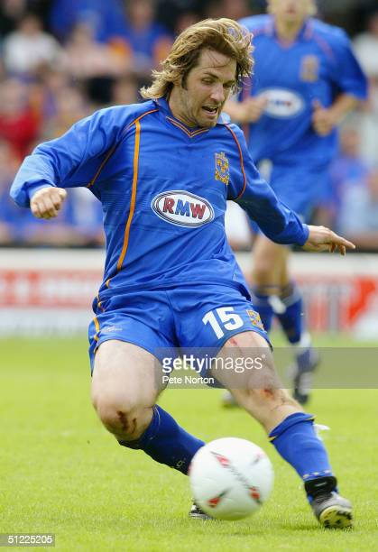 Ben Smith of Shrewsbury Town in action during the Coca Cola League Two match Shrewsbury Town v Northampton Town held at Gay Meadow on August 21 2004