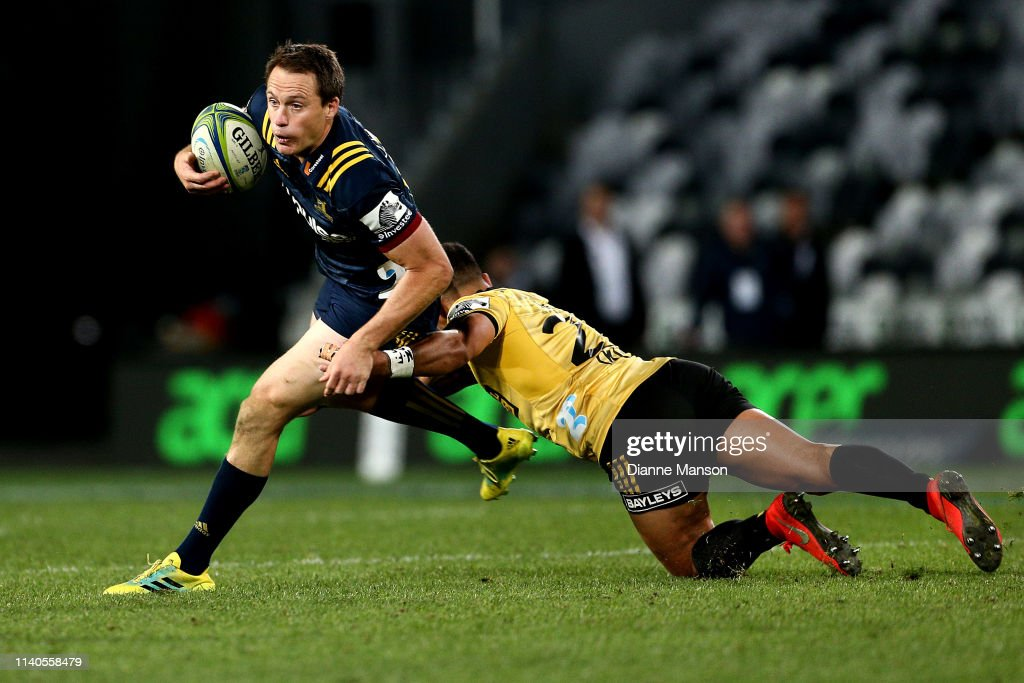 Super Rugby Rd 8 - Highlanders v Hurricanes : News Photo