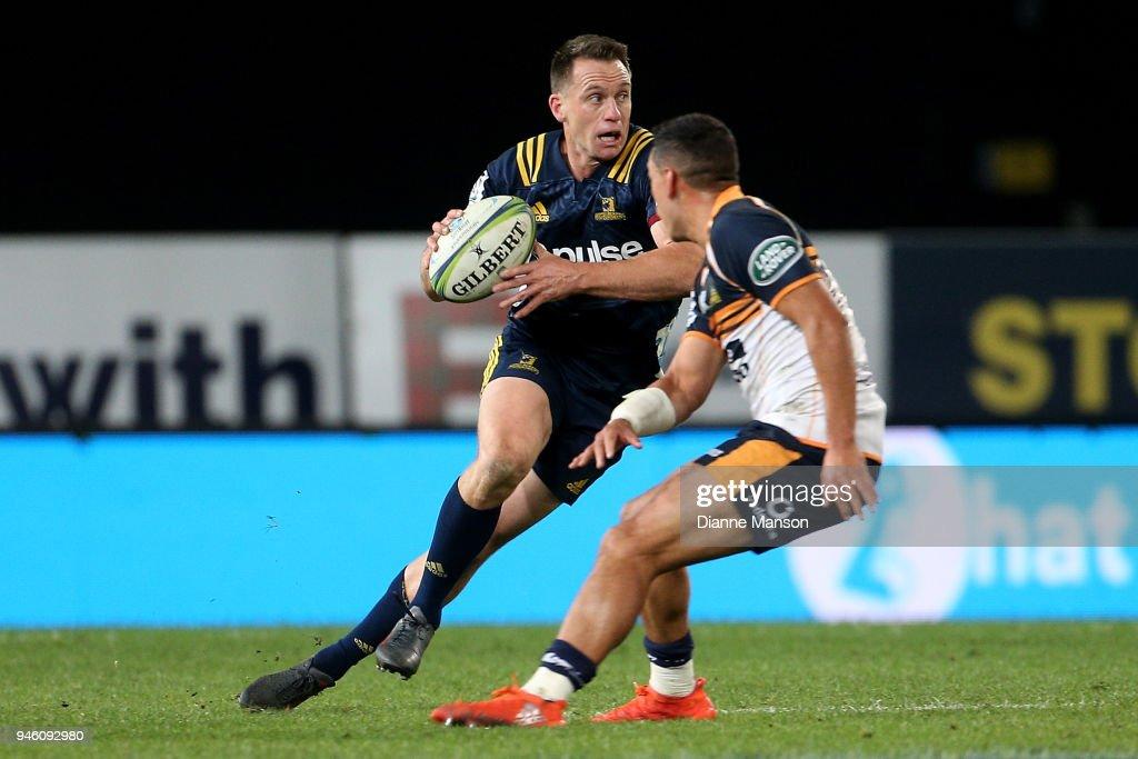 Super Rugby Rd 9 - Highlanders v Brumbies : News Photo