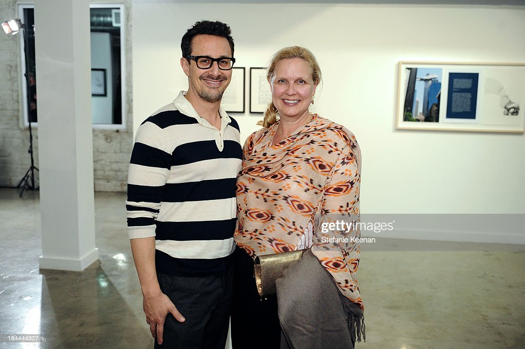 Ben Spector and Donanne Kasikci attend The Mistake Room's Benefit Auction on October 13, 2013 in Los Angeles, California.