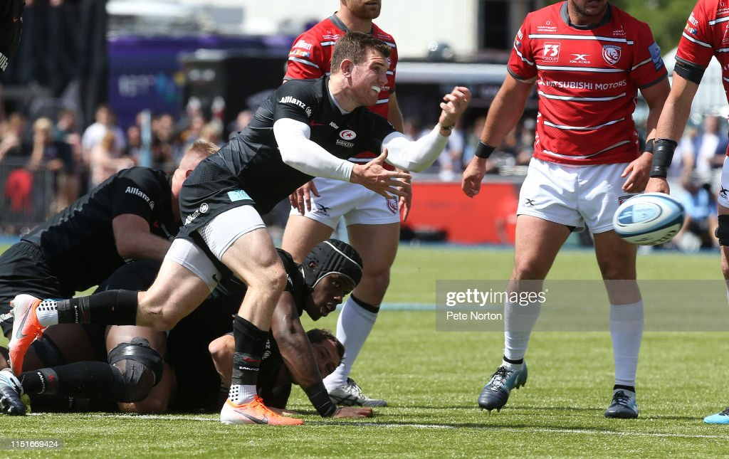 Saracens v Gloucester - Gallagher Premiership Rugby Semi Final : News Photo
