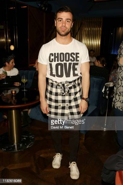 Ben Starr attends a party hosted by Gina Martin and Ryan Whelan to celebrate the Royal ascent into law of the Voyeurism Bill making upskirting...