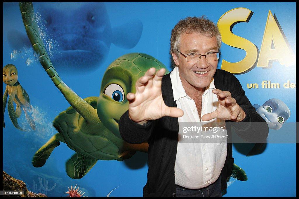 Premiere Of Film 'Le Voyage Extraordinaire De Samy' (Sammy's Adventures) At Cinema Gaumont Opera In Paris : News Photo