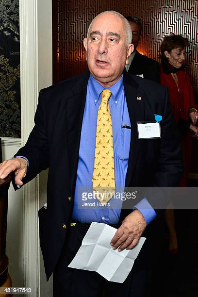 Ben Stein attends an evening with Azzedine Downes President and CEO of the International Fund for Animal Welfare at Porta Via Restaurant on April 1...