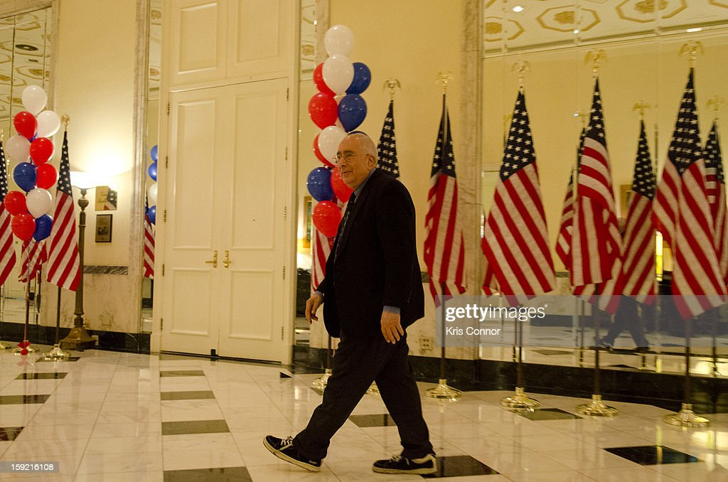 Ben Stein attends President Nixon's 100th Birthday Gala on January 9, 2013 in Washington, United States.