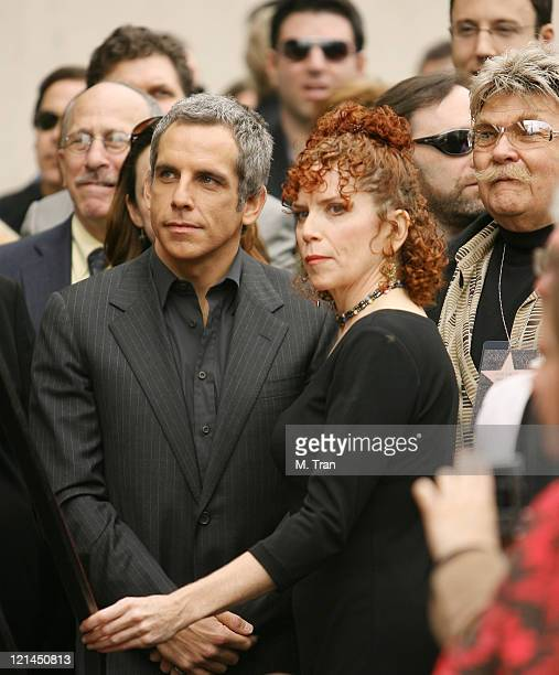 Ben Stiller Amy Stiller and Rip Taylor during Jerry Stiller and Anne Meara Honored with a Star on the Hollywood Walk of Fame at 7018 Hollywood Blvd...
