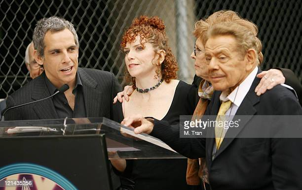 Ben Stiller, Amy Stiller, Jerry Stiller and Anne Meara