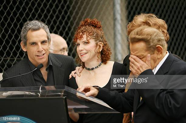 Ben Stiller Amy Stiller Jerry Stiller and Anne Meara