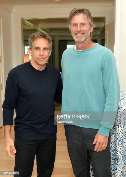 Ben Stiller and Andrew Heckler attend the Mentor Brunch at the 2018 Nantucket Film Festival Day 4 on June 23 2018 in Nantucket Massachusetts