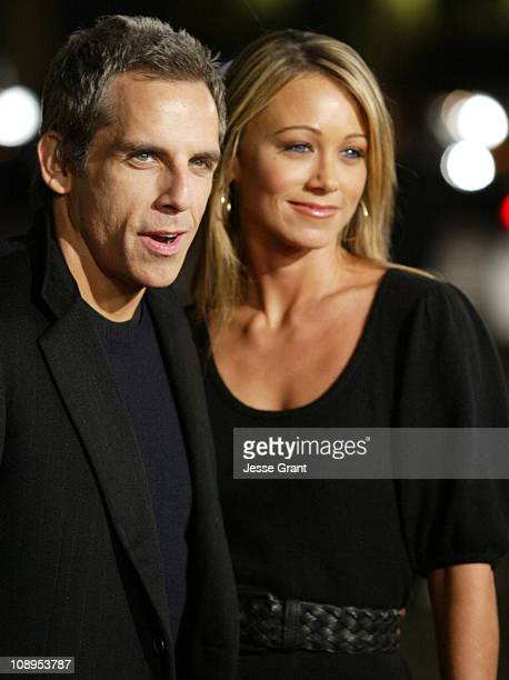 Ben Stiller and Christine Taylor during 'Tenacious D In the Pick of Destiny' Los Angeles Premiere Arrivals at Grauman's Chinese Theater in Hollywood...