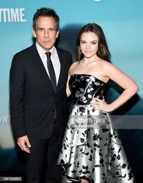 "Ben Stiller and Ella Olivia Stiller attend the ""Escape At Dannemora"" New York Series Premiere at Alice Tully Hall, Lincoln Center on November 14,..."