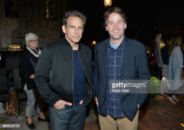 Ben Stiller and Mike Birbiglia attend the Filmmakers Party during 2017 Nantucket Film Festival Day 2 on June 22 2017 in Nantucket Massachusetts