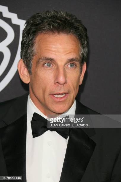 Ben Stiller arrives for the Warner Bros and In Style 20th annual post Golden Globes party at the Oasis Courtyard of the Beverly Hilton hotel in...
