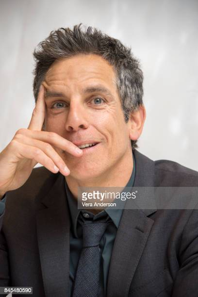 Ben Stiller at the 'Brad's Status' Press Conference at the Fairmont Royal York Hotel on September 9 2017 in Toronto Canada