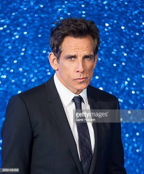 Ben Stiller attends a London Fan Screening of the Paramount Pictures film Zoolander No 2 at Empire Leicester Square on February 4 2016 in London...