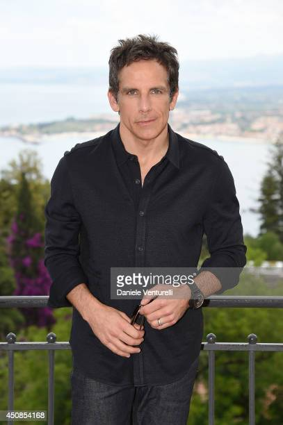 Ben Stiller attends a portrait session during the 60th Taormina Film Fest on June 19 2014 in Taormina Italy