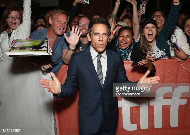 Ben Stiller attends Amazon Studios' Brad's Status Toronto International Film Festival Premeire at Winter Garden Theatre on September 9 2017 in...