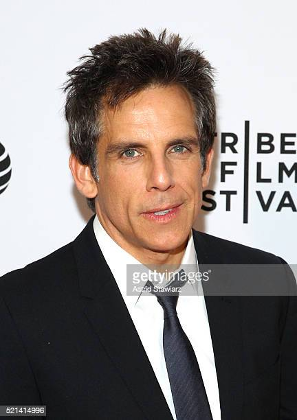 Ben Stiller attends 'Little Boxes' Premiere 2016 Tribeca Film Festival at Chelsea Bow Tie Cinemas on April 15 2016 in New York City