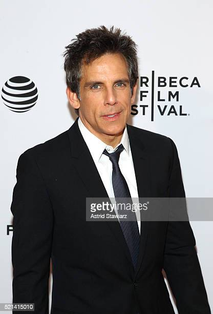 Ben Stiller attends 'Little Boxes' Premiere 2016 Tribeca Film Festival at Chelsea Bow Tie Cinemas on April 15 2016 in New York City