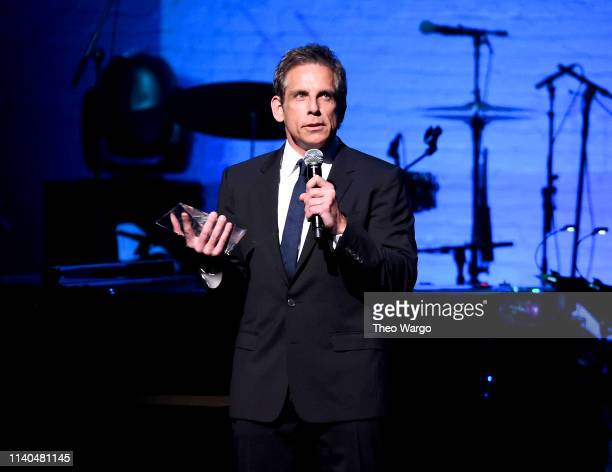 Ben Stiller attends the 17th Annual A Great Night In Harlem at The Apollo Theater on April 04 2019 in New York City