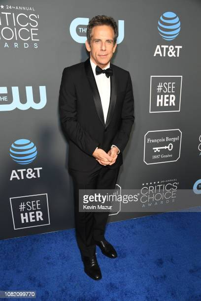 Ben Stiller attends the 24th annual Critics' Choice Awards at Barker Hangar on January 13 2019 in Santa Monica California
