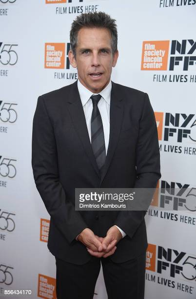 Ben Stiller attends The 55th New York Film Festival 'Meyerowitz' at Alice Tully Hall on October 1 2017 in New York City