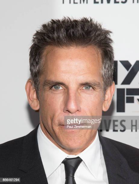 Ben Stiller attends the 55th New York Film Festival 'Meyerowitz Stories' at Alice Tully Hall on October 1 2017 in New York City