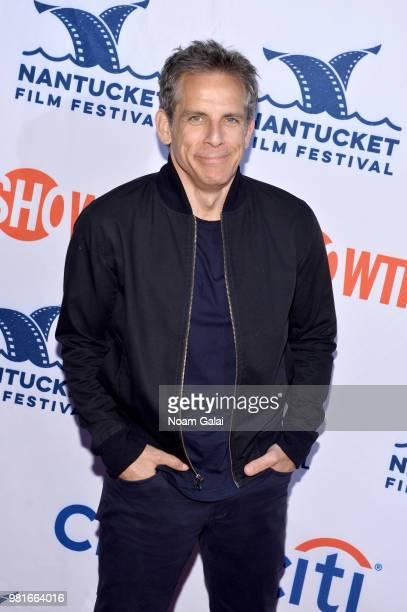 Ben Stiller attends the AllStar Comedy Roundtable The Improv Takeover during the 2018 Nantucket Film Festival Day 3 on June 22 2018 in Nantucket...