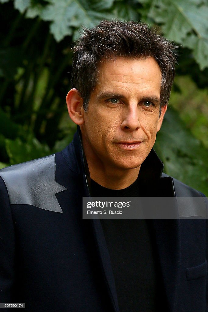Ben Stiller attends the Photocall for the Fan Screening of the Paramount Pictures film 'Zoolander No. 2' at 'Hotel De Russie Garden' on January 30, 2016 in Rome, Italy.