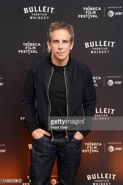 Ben Stiller attends the Plus One Premiere After Party at the Bulleit 3D printed Frontier Lounge during Tribeca Film Festival on April 28 2019 in New...