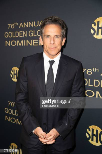 Ben Stiller attends the Showtime Golden Globe Nominees Celebration at Sunset Tower Hotel on January 5 2019 in West Hollywood California